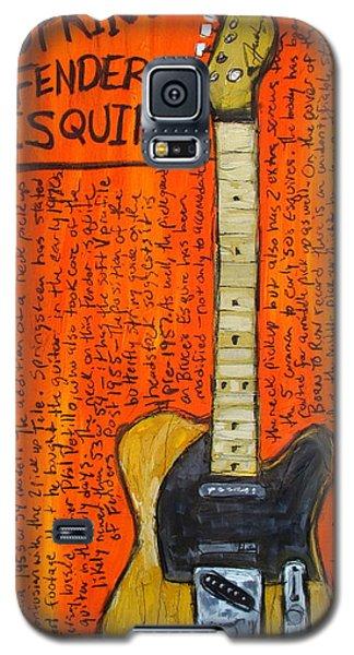 Bruce Springsteen's Fender Esquire Galaxy S5 Case by Karl Haglund