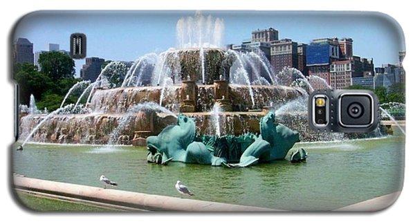 Buckingham Fountain Galaxy S5 Case by Anita Burgermeister