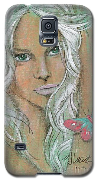 Butterfly Galaxy S5 Case by P J Lewis