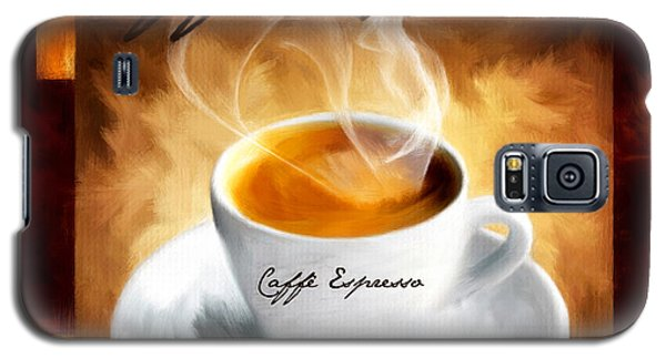 Caffe Espresso Galaxy S5 Case by Lourry Legarde