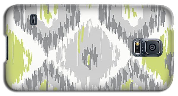 Calyx Ikat Pattern Galaxy S5 Case by Mindy Sommers