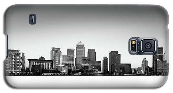 Canary Wharf Skyline Galaxy S5 Case by Ivo Kerssemakers