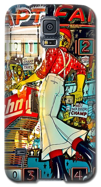 Captain Fantastic - Pinball Galaxy S5 Case by Colleen Kammerer