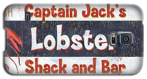 Captain Jack's Lobster Shack Galaxy S5 Case by Debbie DeWitt