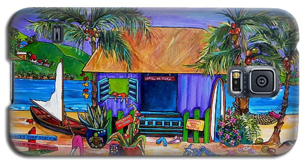 Cara's Island Time Galaxy S5 Case by Patti Schermerhorn