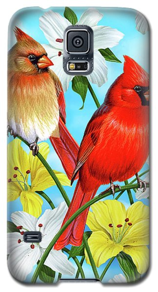 Cardinal Day Galaxy S5 Case by JQ Licensing