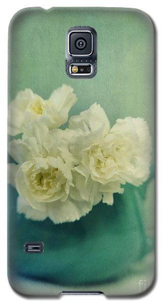 Still Life Galaxy S5 Cases - Carnations In A Jar Galaxy S5 Case by Priska Wettstein
