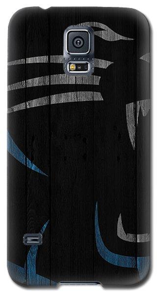 Caroilina Panthers Wood Fence Galaxy S5 Case by Joe Hamilton