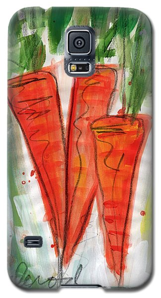 Carrots Galaxy S5 Case by Linda Woods