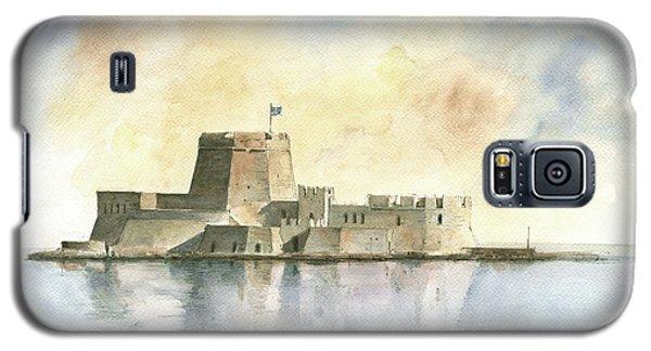Castle Of Bourtzi In Nafplio Galaxy S5 Case by Juan Bosco