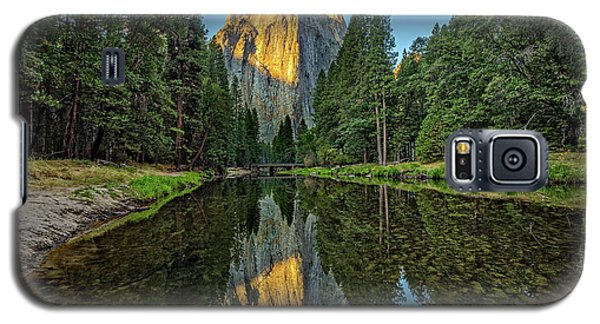 Cathedral Rocks Morning Galaxy S5 Case by Peter Tellone