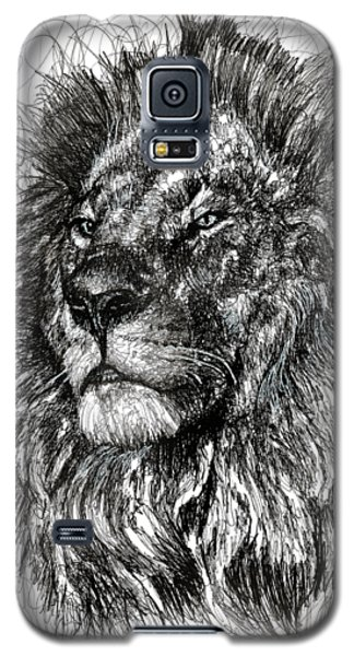 Cecil The Lion Galaxy S5 Case by Michael  Volpicelli