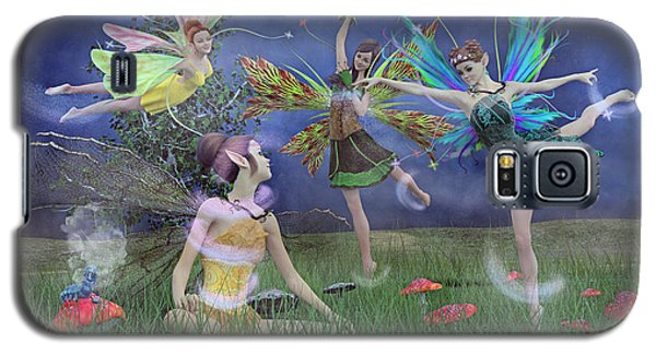 Celebration Of Night Alice And Oz Galaxy S5 Case by Betsy C Knapp