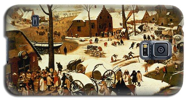 Census At Bethlehem Galaxy S5 Case by Pieter the Elder Bruegel