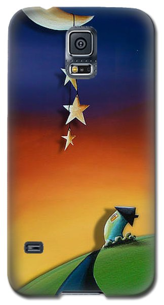 Moon Galaxy S5 Cases - Charming Galaxy S5 Case by Cindy Thornton