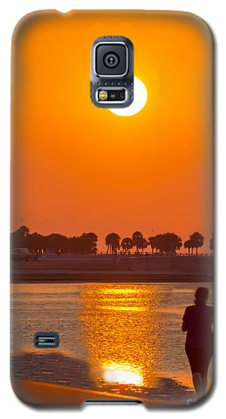 Galaxy S5 Cases - Chasing The Sunset Galaxy S5 Case by Marvin Spates