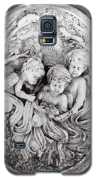Reliefs Galaxy S5 Cases - Cherub...winged Angel Galaxy S5 Case by Tom Druin