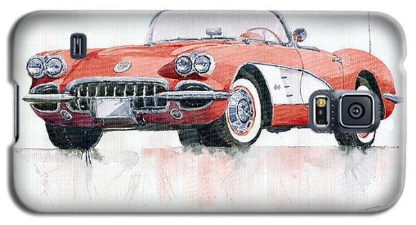 Chevrolet Corvette C1 1960  Galaxy S5 Case by Yuriy  Shevchuk