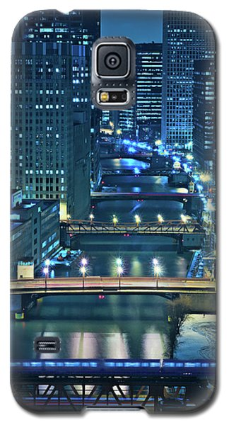 Chicago Bridges Galaxy S5 Case by Steve Gadomski