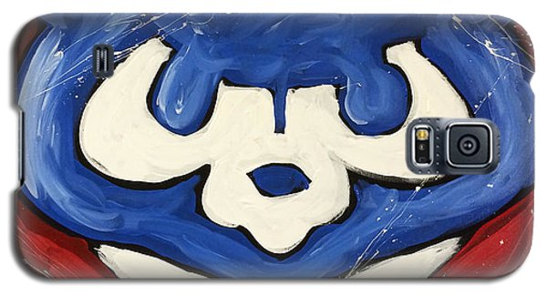Chicago Cubs Galaxy S5 Case by Elliott From