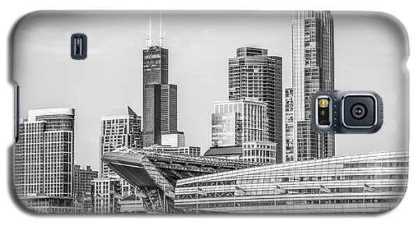 Chicago Skyline With Soldier Field And Willis Tower  Galaxy S5 Case by Paul Velgos
