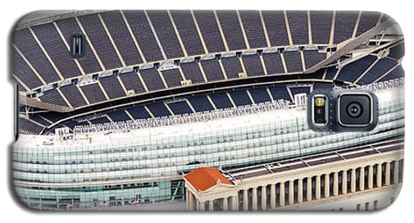 Chicago Soldier Field Aerial Photo Galaxy S5 Case by Paul Velgos