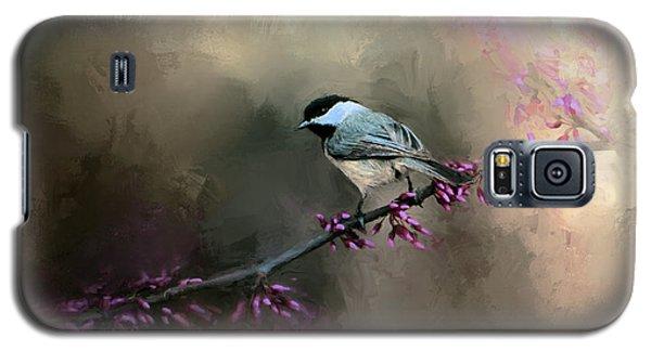 Chickadee In The Light Galaxy S5 Case by Jai Johnson