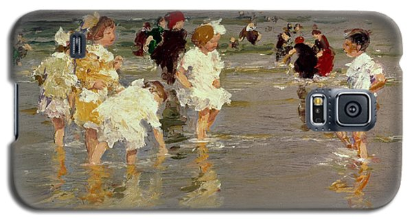 Children On The Beach Galaxy S5 Case by Edward Henry Potthast