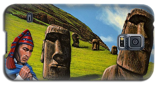 Galaxy S5 Cases - Chile Easter Island Galaxy S5 Case by Paul Meijering