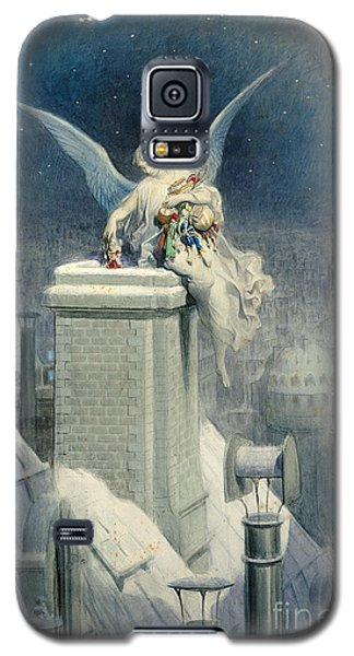 Christmas Eve Galaxy S5 Case by Gustave Dore