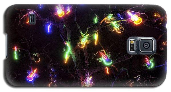 Christmas Violins Galaxy S5 Case by John Rizzuto