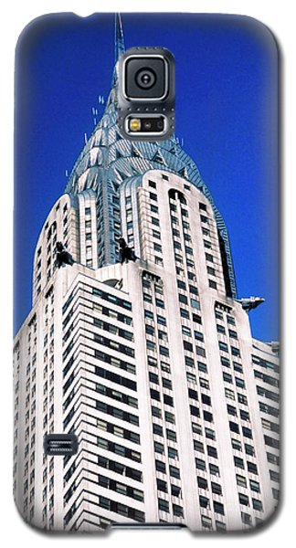 Chrysler Building Galaxy S5 Case by John Greim