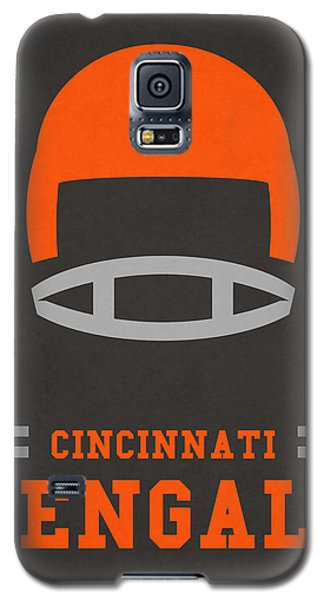 Cincinnati Bengals Vintage Art Galaxy S5 Case by Joe Hamilton