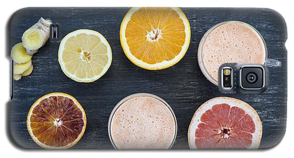 Citrus Smoothies Galaxy S5 Case by Elena Elisseeva
