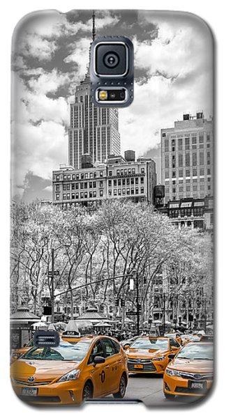City Of Cabs Galaxy S5 Case by Az Jackson