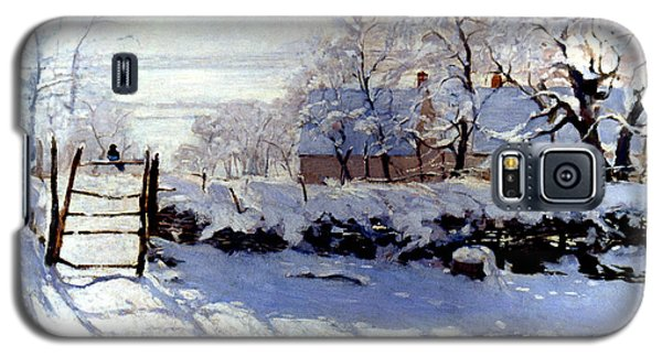 Claude Monet: The Magpie Galaxy S5 Case by Granger