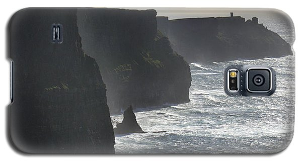 Landscapes Galaxy S5 Cases - Cliffs of Moher 1 Galaxy S5 Case by Mike McGlothlen