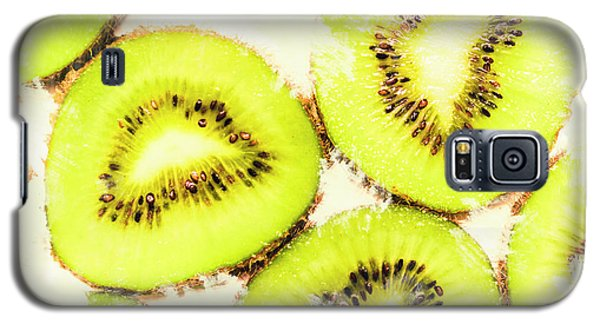 Close Up Of Kiwi Slices Galaxy S5 Case by Jorgo Photography - Wall Art Gallery