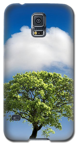 Cloud Cover Galaxy S5 Case by Mal Bray