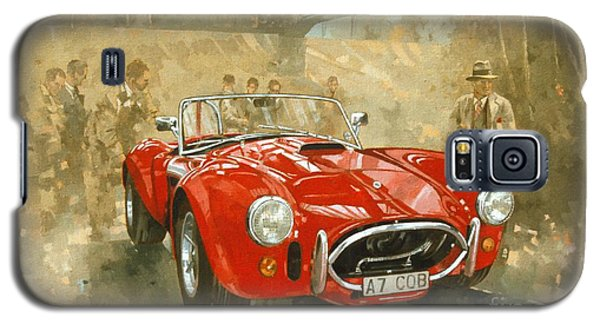 Cobra At Brooklands Galaxy S5 Case by Peter Miller