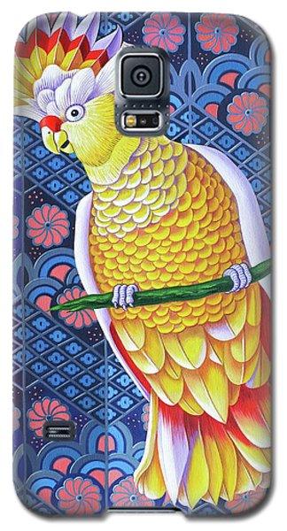 Cockatoo Galaxy S5 Case by Jane Tattersfield