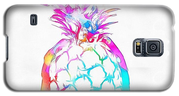 Colorful Pineapple Galaxy S5 Case by Dan Sproul