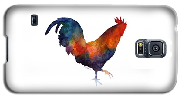 Colorful Rooster Galaxy S5 Case by Hailey E Herrera