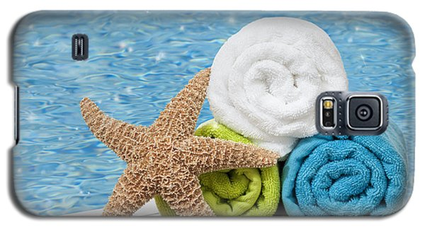 Summer Galaxy S5 Cases - Colourful towels Galaxy S5 Case by Amanda And Christopher Elwell