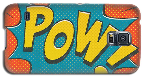 Comic Pow Galaxy S5 Case by Mitch Frey