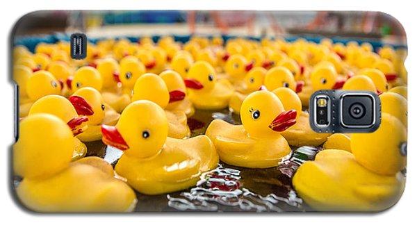 County Fair Rubber Duckies Galaxy S5 Case by Todd Klassy