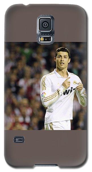 Cristiano Ronaldo 4 Galaxy S5 Case by Rafa Rivas