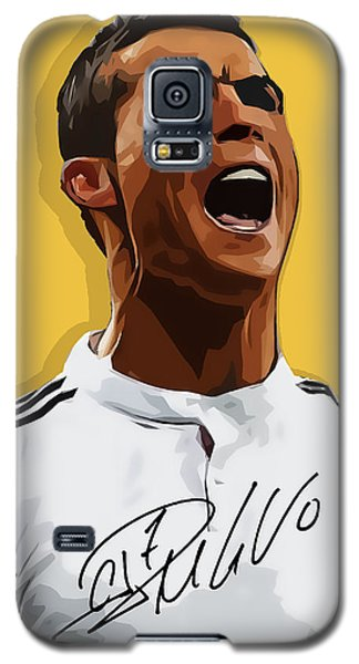 Cristiano Ronaldo Cr7 Galaxy S5 Case by Semih Yurdabak