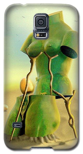 Crutches 2 Galaxy S5 Case by Mike McGlothlen