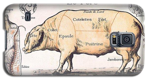 Cuts Of Pork Galaxy S5 Case by French School